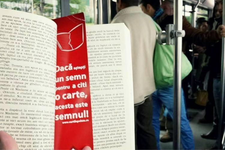 Pasionații de citit merg din nou gratis cu mijloacele de transport în comun la Cluj
