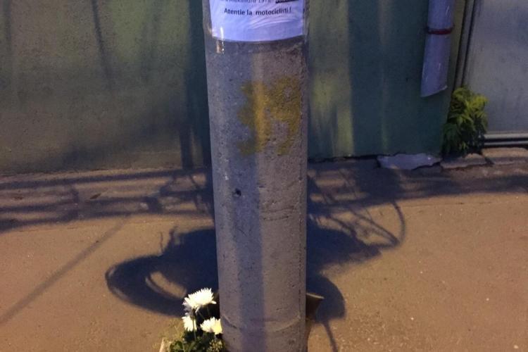 Cine e motociclistul MORT în Cluj-Napoca, pe strada Bucuresti. Colegii s-au adunat la locul accidentului - FOTO