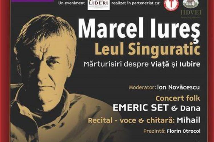"""Marcel Iureș joacă azi la Cluj-Napoca în spectacolul """"Leul singuratic"""""""