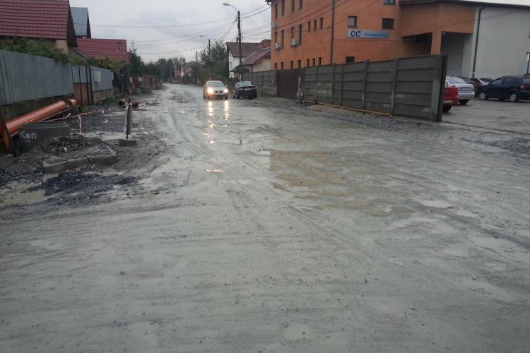 Strada Orăștiei din Cluj-Napoca va fi refăcută - FOTO