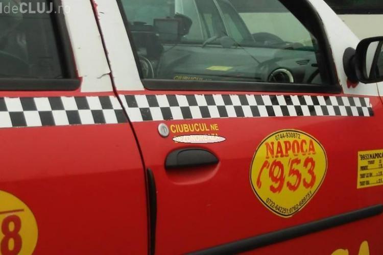 Mesajul unui taximestrist din Cluj. Ce le spune celor care dau CIUBUC - FOTO