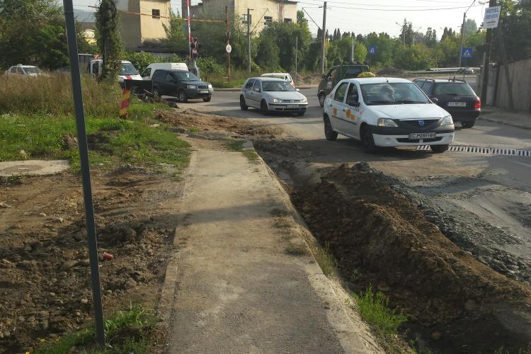 E.ON Gaz, amendă MAXIMĂ la Cluj, pentru lucrarea de pe Tăietura Turcului