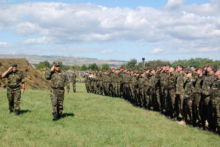 """Militarii au demarat exercitiul """"SOMEȘ 15"""" - FOTO"""