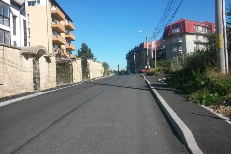Strada Romul Ladea a fost finalizată. Este una dintre cele mai moderne din Cluj-Napoca - FOTO