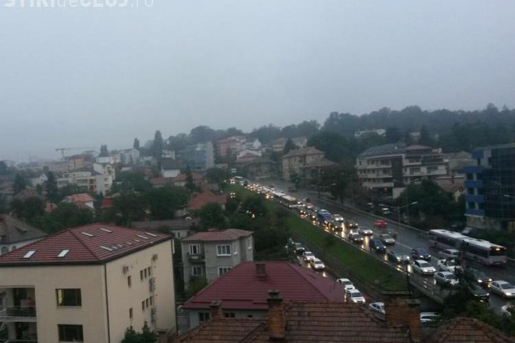 INVAZIE de mașini în Cluj! Cum arată Calea Turzii! Cum se circulă în alte părți? - FOTO