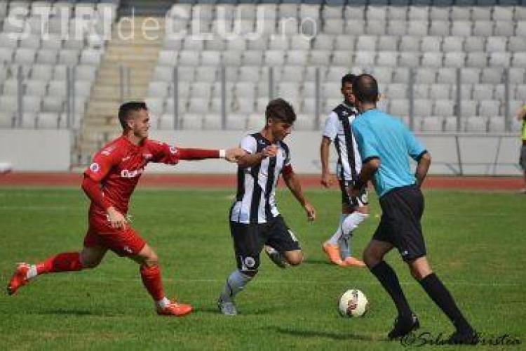 """""""U"""" Cluj are din nou jucători studenți. O parte din ei stau și la cămin"""