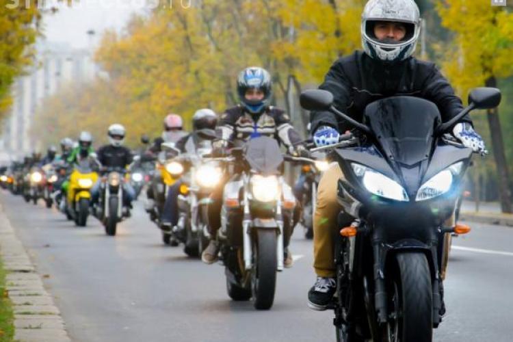 Motocicliștii clujeni fac un marș în memoria polițistului de la Rutieră decedat în timpul unei misiuni