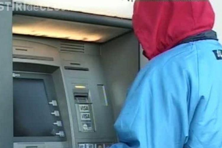 Încă un hoț din bancomate prins de polițiștii clujeni. Partenerul său e deja în arest