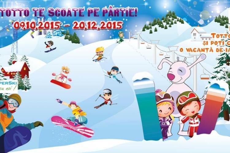 Spațiul de joacă pentru copii, din Iulius Mall Cluj, te trimite într-un week-end la schi (P)