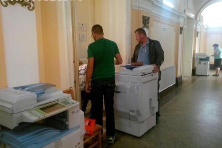 DNA a făcut percheziții la Primăria Cluj-Napoca și o firmă privată - FOTO