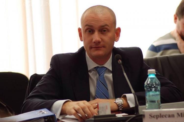 PNL Cluj a votat pentru excluderea lui Mihai Seplecan. Rămâne fără scaunul de șef al județului - VIDEO