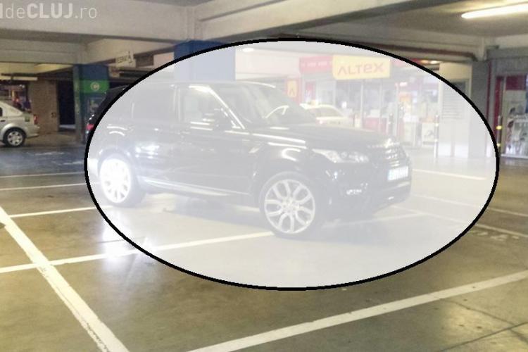 Asta înseamnă să fii Mafiot! Cum a parcat în subsol la Iulius Mall Cluj - FOTO
