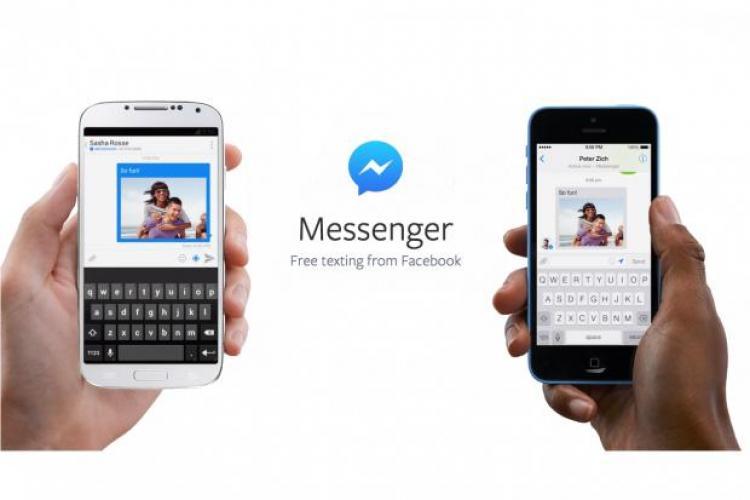 Facebook are planuri URIAȘE pentru Messenger: Am terminat aplicatia in proportie de 1%