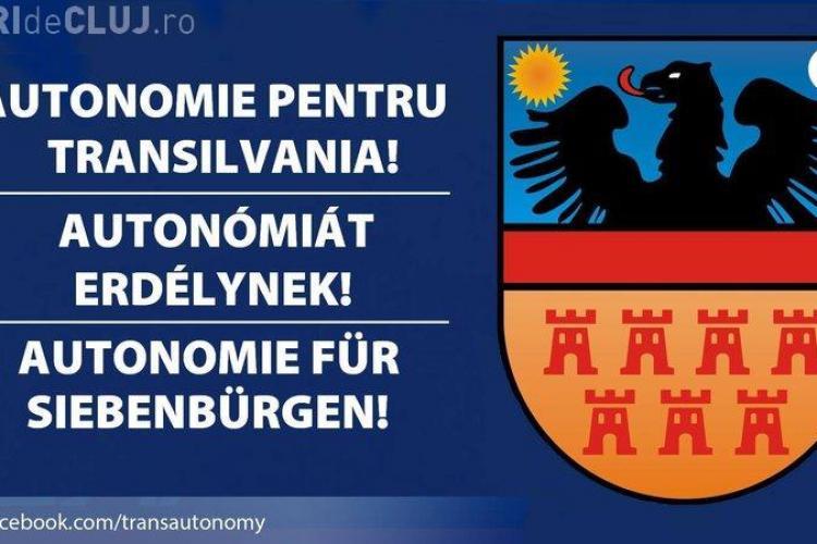 """Nouă PETIȚIE pentru """"Autonomie economică-administrativă pentru Transilvania"""""""