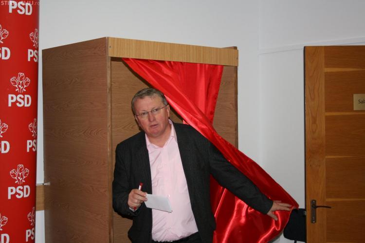 Cum a votat județul Cluj pentru alegerea lui Liviu Dragnea președinte al PSD