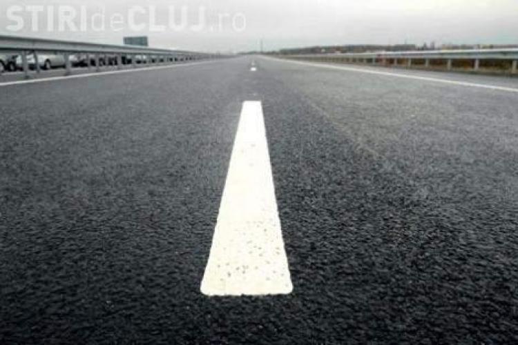 Se fac asfaltări pe DN 1, în județul Cluj. Unde se va circula mai greu