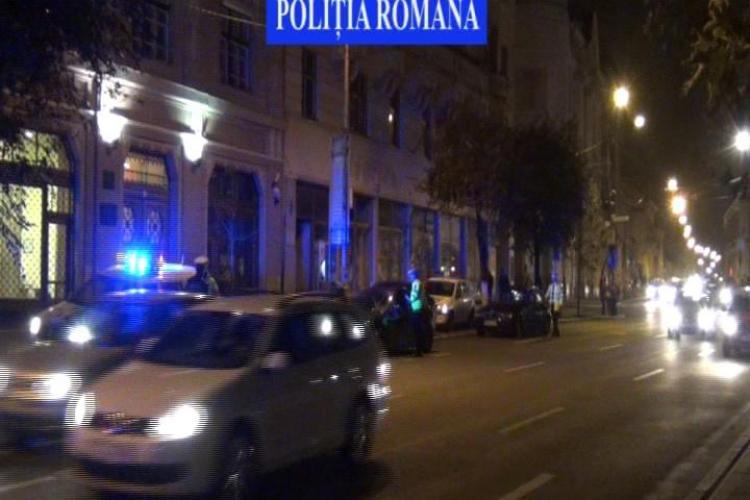 Polițiștii rutieri din Cluj-Napoca au făcut o RAZIE de proporții. Amenzile au curs - VIDEO