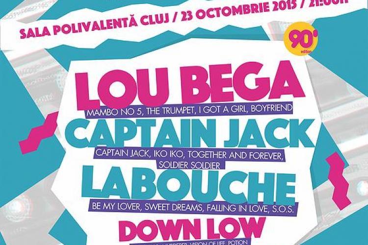 Știri de Cluj pune la bătaie 14 bilete pentru MEGA concertul Lou Bega, La Bouche, Boomfunk MC'S și Down Low! Cum poți câștiga