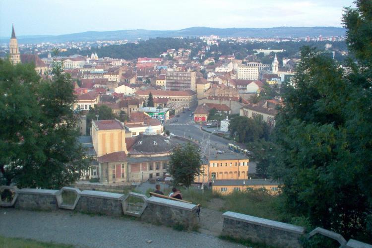 Primăria Cluj-Napoca va cumpăra 10.000 de mp de pe Dealul Cetățuia. Ce va amenaja ACOLO