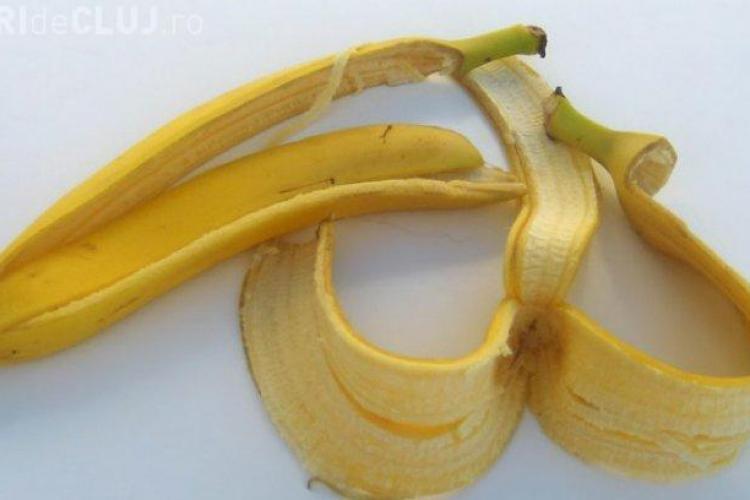 De ce să nu ARUNCI coaja de banane