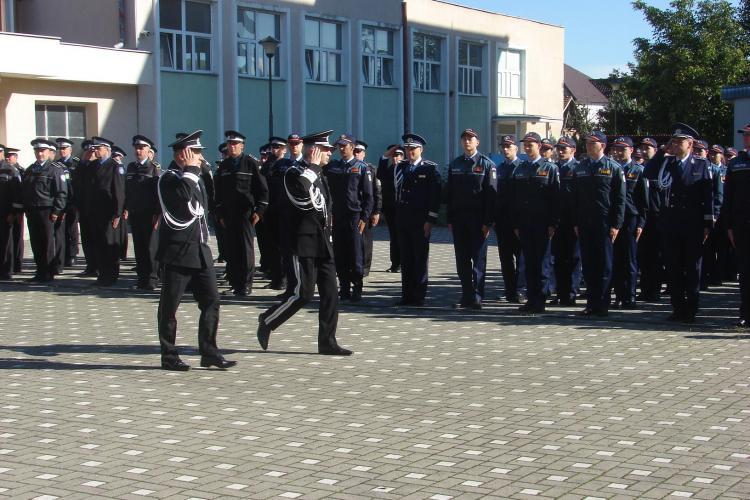 Ce s-a ÎNTÂMPLAT la ceremonia de deschidere a Școlii de Poliție Cluj - FOTO