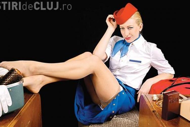 O stewardesă a făcut un milion de euro din sex cu pasagerii