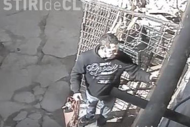 Cum se fură la un local din centrul Clujului! Îl recunoașteți pe hoț? - VIDEO