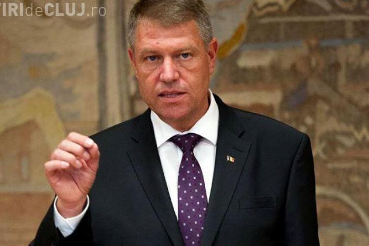 Klaus Iohannis: L-am sfătuit pe Gabriel Oprea să-şi dea demisia