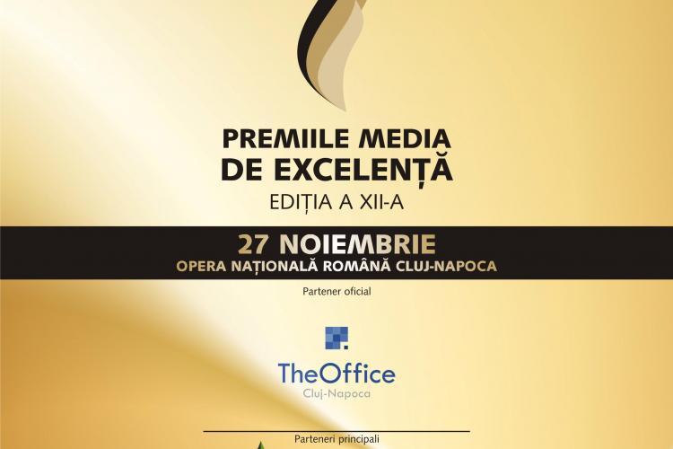 Premiile Media de Excelență 2015 au loc la Opera Națională Română din Cluj-Napoca
