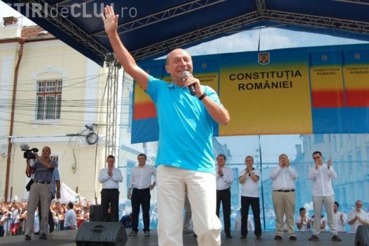 Traian Băsescu ajunge AZI la Cluj. Ce întâlniri are