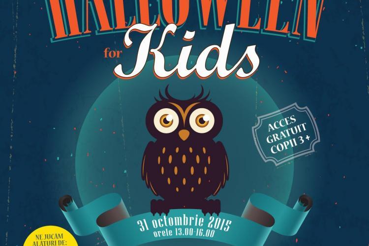 Petrecere tematică, face-painting, atelier de creație și multe surprize pentru copii, de Halloween, la Iulius Mall Cluj (P)
