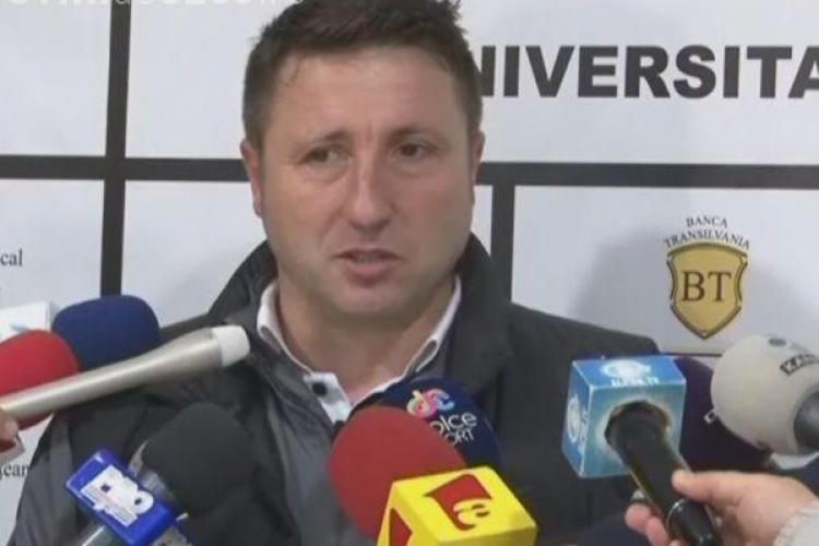 """De ce este executat antrenorul U Cluj, Marius Popescu, de """"apropiații"""" lui Florian Walter"""