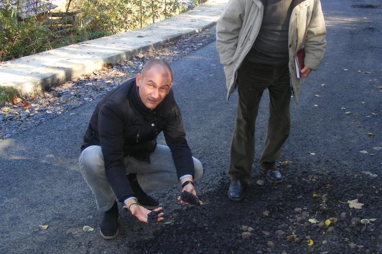 INSPECȚIE nouă pe drumul Răchiţele - Ic Ponor. E RĂFUIALĂ între Seplecan și Avram - FOTO