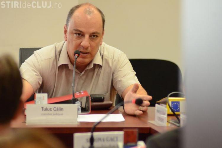 Călin Tuluc nu a fost ales vicepreședinte al Consiliului Județean Cluj