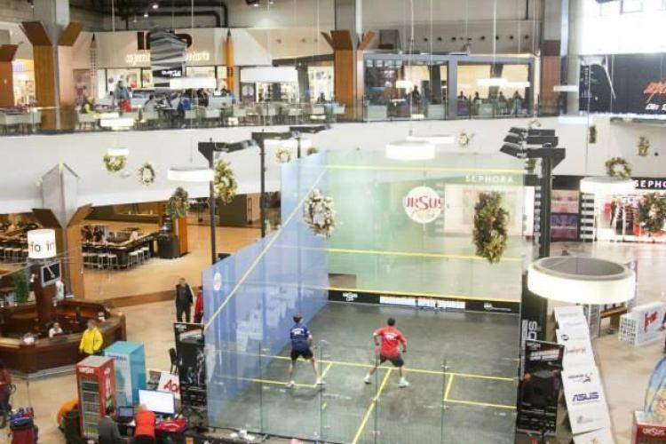 Turneul Light Soft Romanian Open Squash, din acest weekend, la iulius Mall Cluj