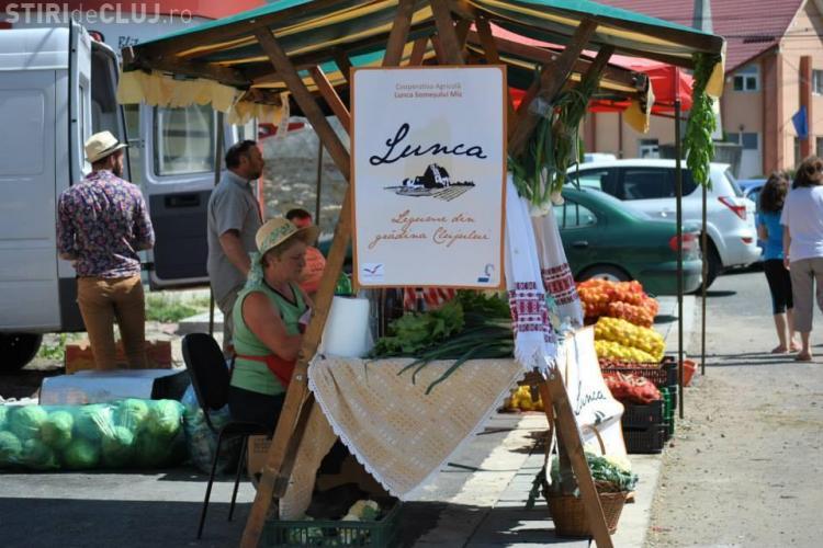 Legume din grădina Clujului! Acesta este sloganul agricutorilor din Cooperativa Agricolă Lunca Someșului Mic