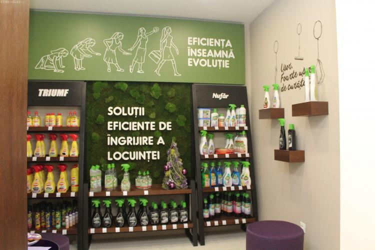 Farmec a redeschis magazinul de pe strada Napoca, după o investiție de 50.000 euro. Ce surprize îi așteaptă pe clienți FOTO