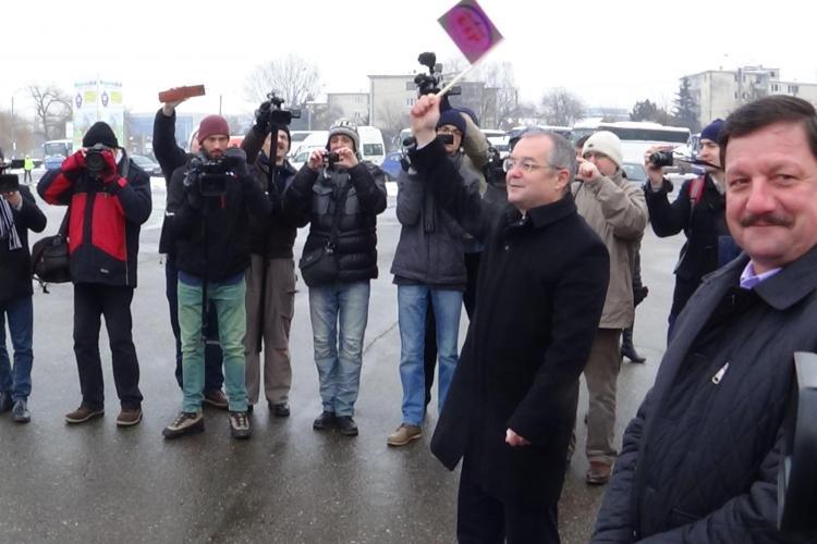 Emil Boc a vorbit despre benzi dedicate de transport: Clujenii să ajungă să își regleze ceasul după orarul autobuzelor