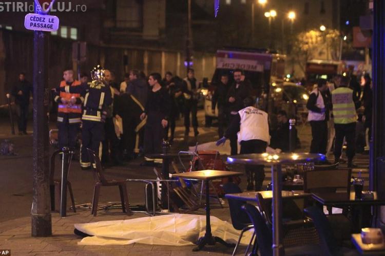 O femeie din Baia Mare și un bărbat din Tulcea, ÎMPUȘCAȚI la Paris în atacul terorist