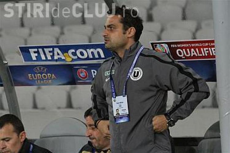 "E OFICIAL! ""Papi"" a fost demis, iar Mihai Teja e noul antrenor al lui ""U"" Cluj"