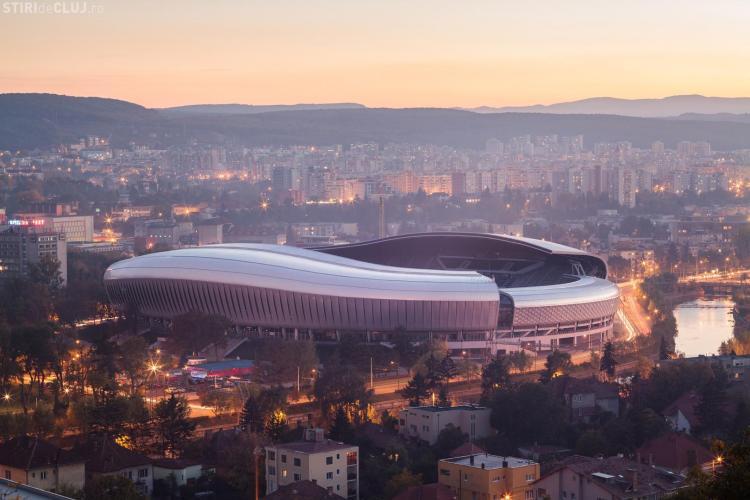 Cluj Arena nu are autorizație de la ISU