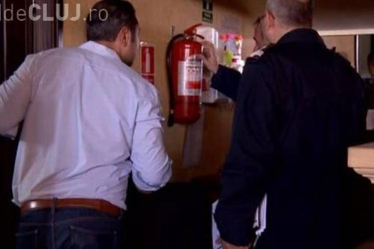 ISU Cluj, despre controlul din CLUBURI. Două unități închise, dar SUSPECT pompierii nu dau nume