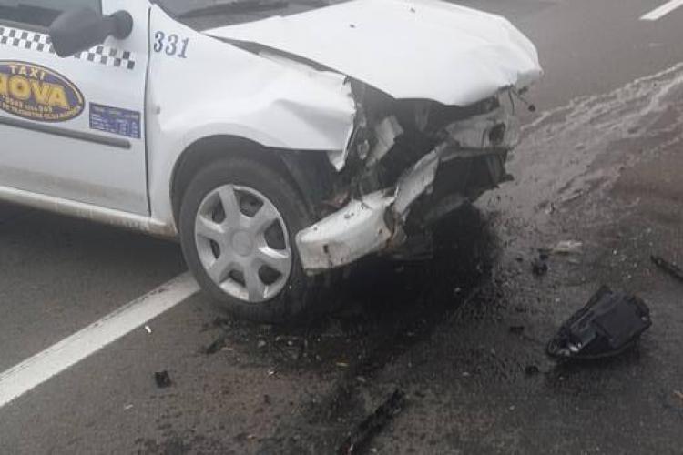 Taximetrist lovit pe Frunzișului de un șofer mort de BEAT. Cum s-a întâmplat totul - FOTO