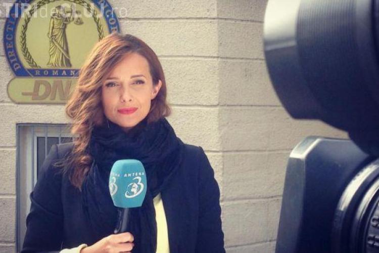 """Jurnalistă Antena 3, după incendiul din Clubul Colectiv: """"Nu pot să nu zâmbesc la gândul că am cea mai mişto meserie din lume"""""""