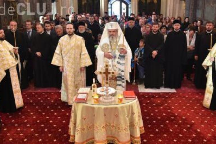 Patriarhul Daniel s-a ENERVAT la înmormântarea femeii de serviciu de la Club Colectiv