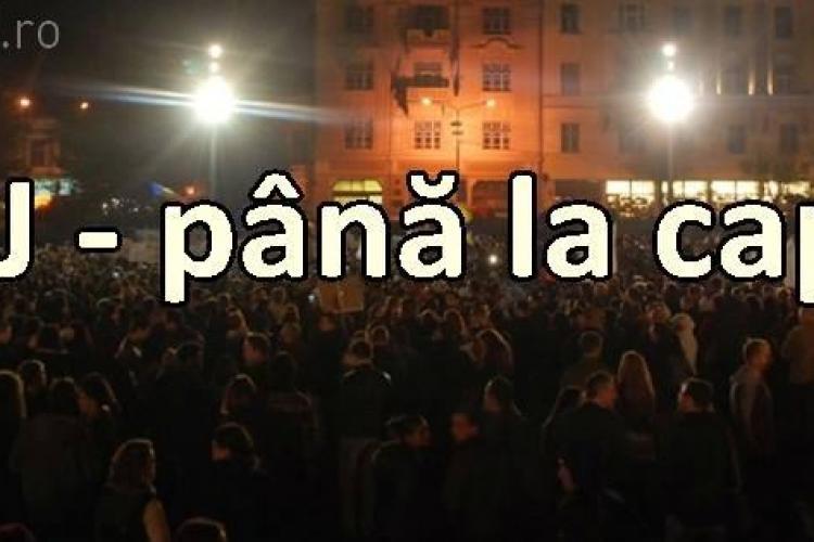 Clujenii ies în stradă joi și vineri, de la ora 19.00. Manifestul CLUJ PÂNĂ LA CAPĂT!