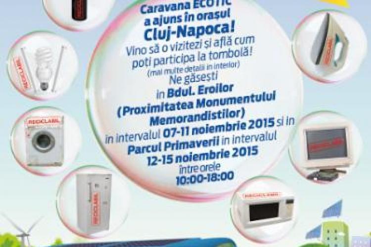 Încep Zilele Reciclării în orașul Cluj-Napoca. Predai deșeuri electronice și poți câștiga premii surpriză