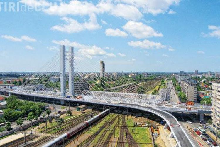 Soluție de trafic pe termen scurt în Cluj-Napoca: Pasaje suspendate ca și în București. Pe termen lung: Metrou