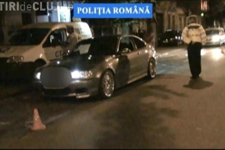 Cursele de mașini se țin la Cluj-Napoca joi seara, pe Dorobanților. Ce amenzi s-au dat