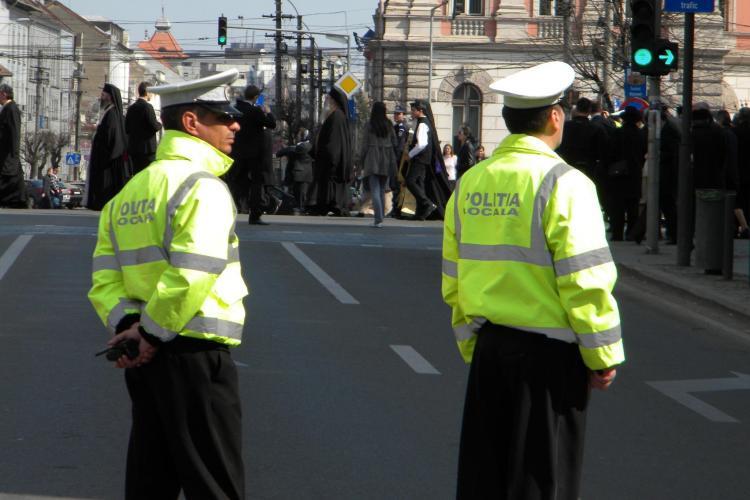 Poliția Locală Cluj-Napoca a dat AMENZI pentru blocajele din trafic. Care sunt zonele FIERBINȚI